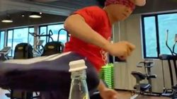 Donnie Yen Destroys #BottleCapChallenge While Blindfolded Because He's Donnie