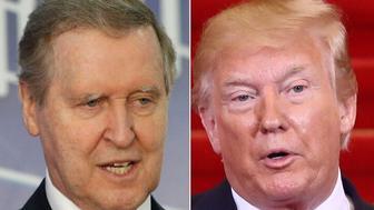 William Cohen and Donald Trump