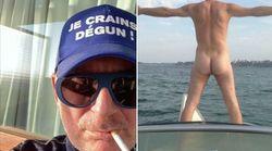 Il invite tout Saint-Malo à montrer ses fesses pour dénoncer la haine sur
