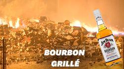 45.000 tonneaux de bourbon partent en fumée dans un incendie aux