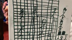 Après leur passage en centre de détentions, des enfants migrants ont dessiné