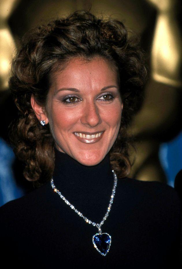 Céline Dion aux Oscars en