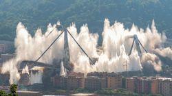 Tre famiglie di Genova chiedono il risarcimento danni per l'esplosione del ponte