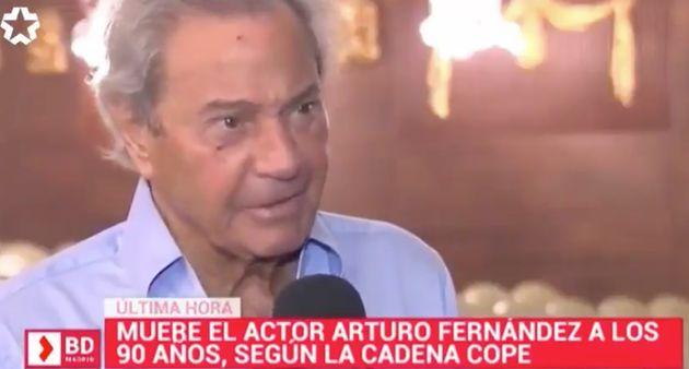Reportaje de Arturo Fernández de 'Buenos Días Madrid' de