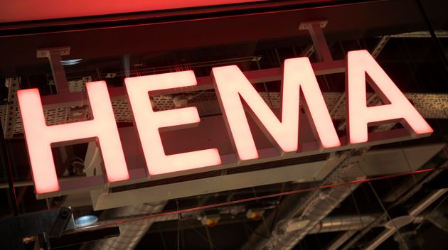 A sign for a Hema store is seen here in Birmingham, U.K. The low-cost retailer says it will soon be opening...