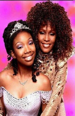 """Brandy and Houston in the 1997 remake of """"Cinderella."""""""
