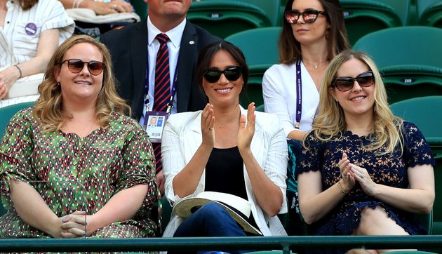 Meghan Markle Supports Pal Serena Williams At