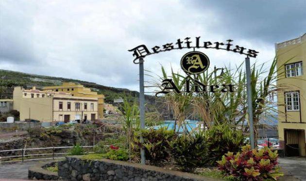 Foto: Destilerías Aldea, en la isla de La Palma,