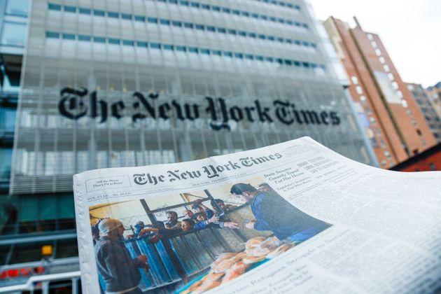 La sede central de 'The New York Times', en Nueva