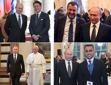 Vladimir Putin, uno Zar a