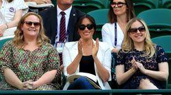 Meghan Markle Supports Pal Serena Williams At