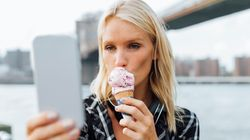 인스타그램 인플루언서에겐 가격을 두 배로 받는 아이스크림