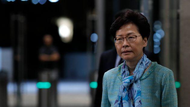 캐리 람 장관의 대화 제안에 대한 홍콩 대학생들의