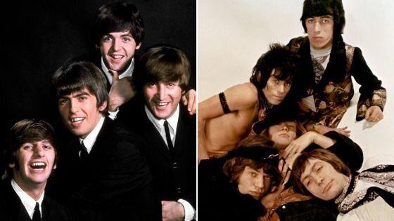 ¿Eres más de Los Beatles o de Los Rolling Stones?