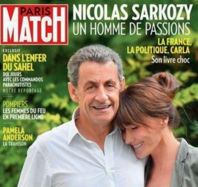 Sarkozy più alto di Carla Bruni sulla cover di Paris Match. I social