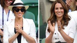 Meghan a Wimbledon rompe il dress code, ma omaggia Archie. Kate sempre