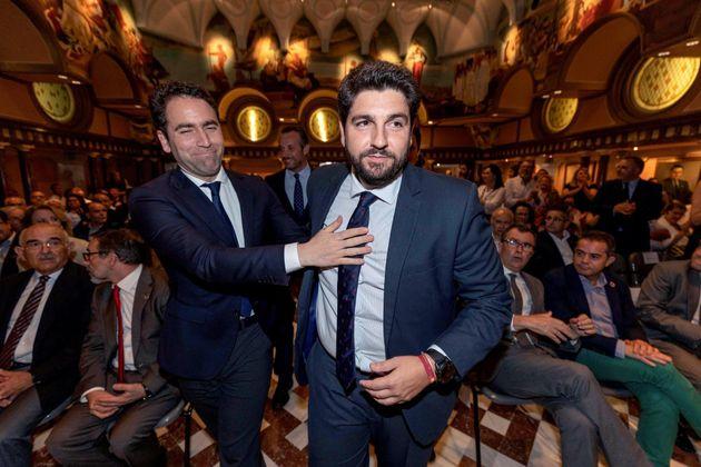 López Miras afirma que Vox le llamó para asegurarle la abstención de sus cuatro diputados en la