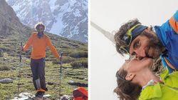 """""""Sono sdraiato in cima al mondo: piango, rido e ti amo"""". La dedica alla moglie dell'alpinista che ha scalato il Nanga"""