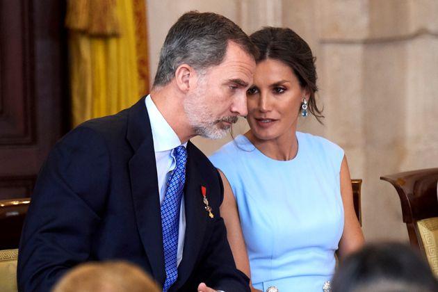 El rey Felipe VI y la reina