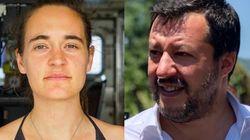 Salvini risponde a Carola: