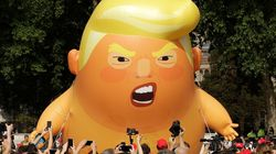 Trump Baby Blimp Crashes Washington Independence Day