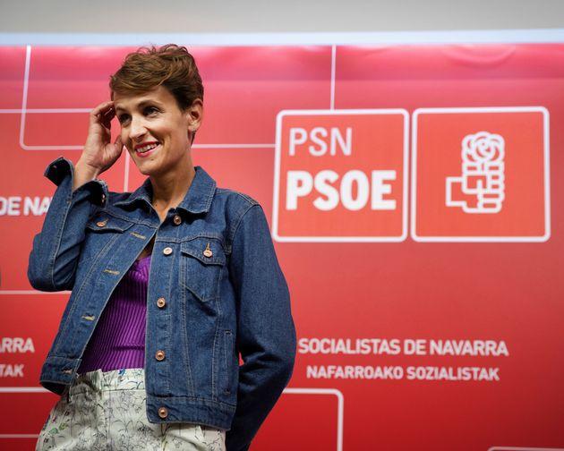 El PSOE logra un acuerdo con Geroa Bai, Podemos e Izquierda Unida para gobernar