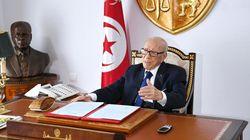 Le décret relatif à l'appel aux urnes signé: Béji Caid Essebsi s'exprime pour la première fois depuis sa sortie
