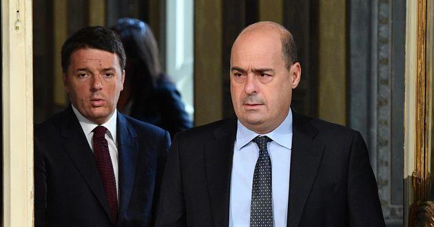 """Pd,Zingaretti:""""Prevedevo l'addio di Renzi. Garantita stabilità del governo"""""""