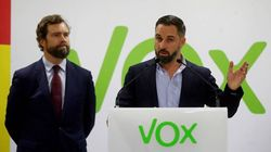 Abascal (Vox) cierra filas con Espinosa y le felicita tras tumbar a López Miras en Murcia: