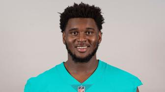This is a 2019 photo of Kendrick Norton of the Miami Dolphins NFL football team. This image reflects the Miami Dolphins active roster as of Tuesday, April 16, 2019 when this image was taken. (AP Photo)