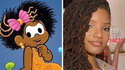 Turma da Mônica se solidariza com Disney e transforma Milena em Ariel, de 'A Pequena