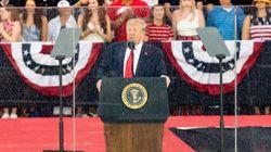 Trump s'est (encore) embrouillé sur l'histoire lors de son discours du 4