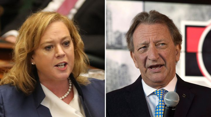 "Ontario cabinet minister Lisa MacLeod apologized on Twitter on Friday for being ""so blunt"" towards Ottawa Senators owner Eugene Melnyk."