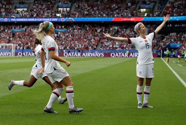 The U.S. women's national soccer team. Just. Keeps. Winning. They're not winning on fair pay, though....