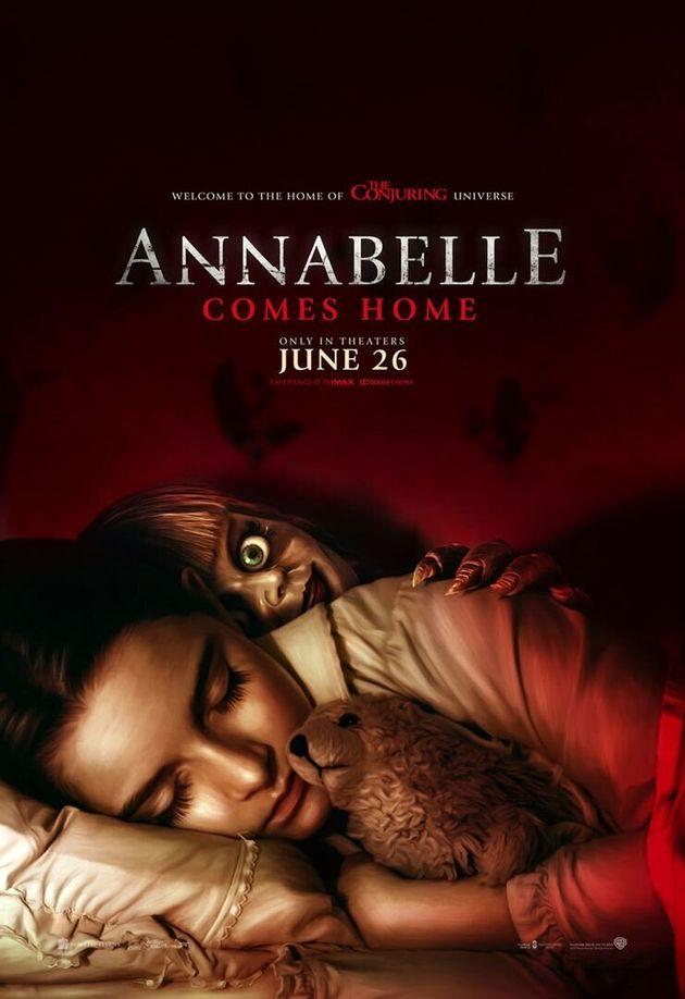 La poupée Annabelle revient nous