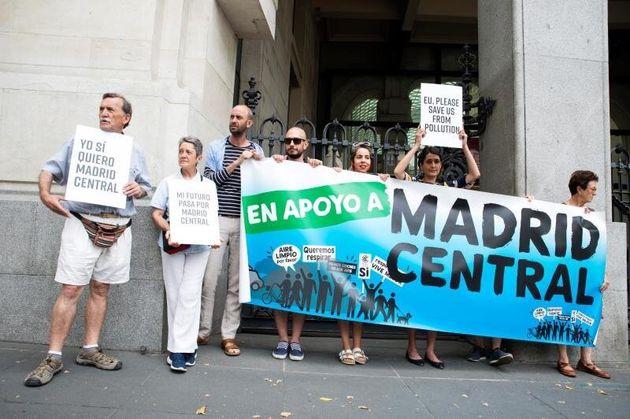 La Justicia paraliza la suspensión de las multas en Madrid