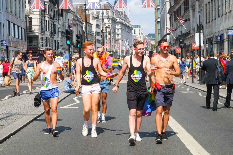 More than one million people enjoyed Pride in London last