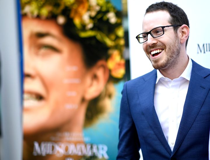 "Ari Aster at the Los Angeles premiere of ""Midsommar"" on June 24."