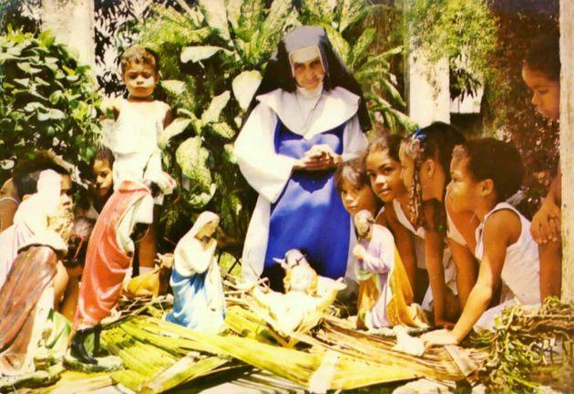 A freira era conhecida por sua dedicação aos mais