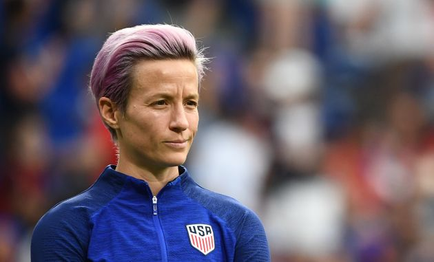 Rapinoe missed the United States' semifinal match against England with a slight injury, but she's said...