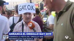 """""""Los gais están haciendo un favor al mundo porque el mundo está sobrepoblado a nivel"""
