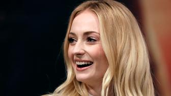 "Actress Sophie Turner attends a press conference for her new movie ""X-Men: Dark Phoenix"" in Seoul, South Korea, Monday, May 27, 2019. The movie is to be released in South Korea on June 5, 2019. (AP Photo/Lee Jin-man)"