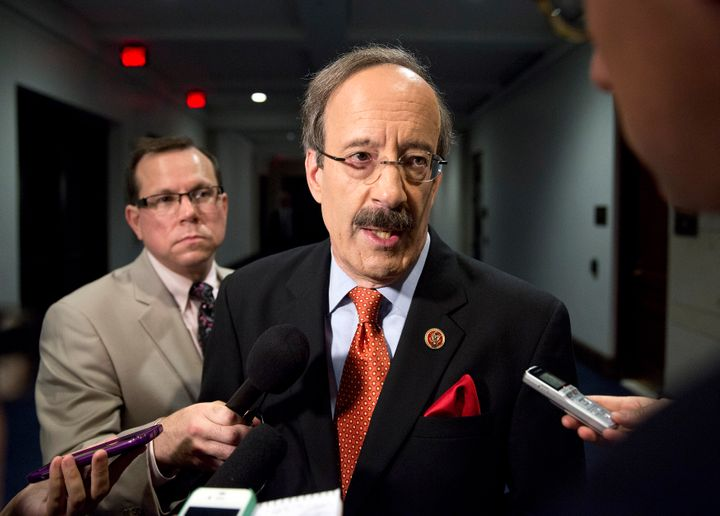 Rep. Eliot Engel (D-N.Y.) is one of the more hawkish members of Democratic leadership now supporting tougher action against S