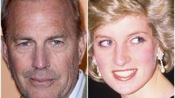 A Princesa Diana queria participar de 'O Guarda-Costas 2', mas tinha receio de beijar Kevin