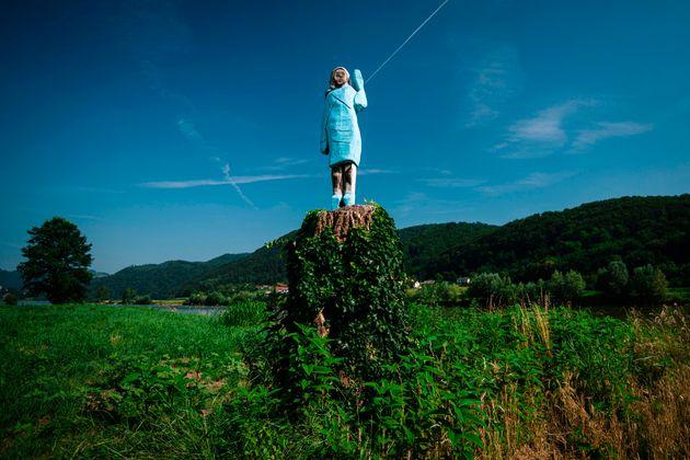 Melania Trump a sa statue (diversement appréciée) en