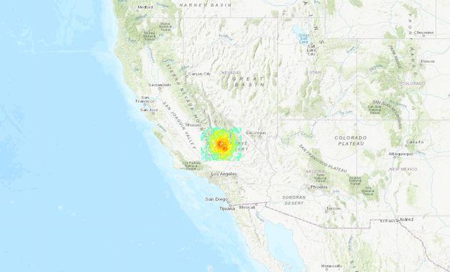 Νέος ισχυρός σεισμός 7,1 ρίχτερ στην Καλιφόρνια - Πολλαπλές φωτιές και