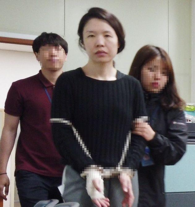 """""""동료들까지 피해"""" 전남편 살해 혐의 고유정 변호인단이 일괄"""