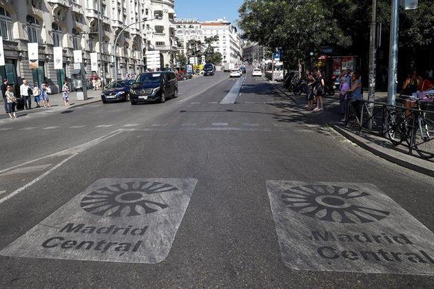 Las multas de Madrid Central volverán este lunes 8 de