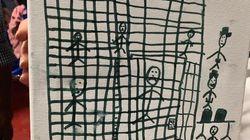 Τρομάζουν οι ζωγραφιές παιδιών μεταναστών που κρατούνται στο Τέξας - Η φρίκη, οι θάνατοι και η πολιτική