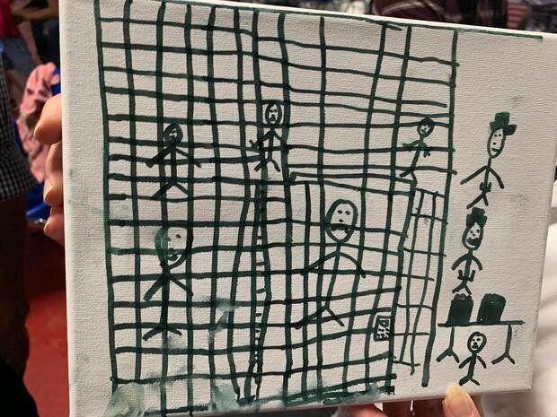 Έτσι βλέπουν τον κόσμο τα παιδιά μεταναστών που κρατούνται στο Τέξας των
